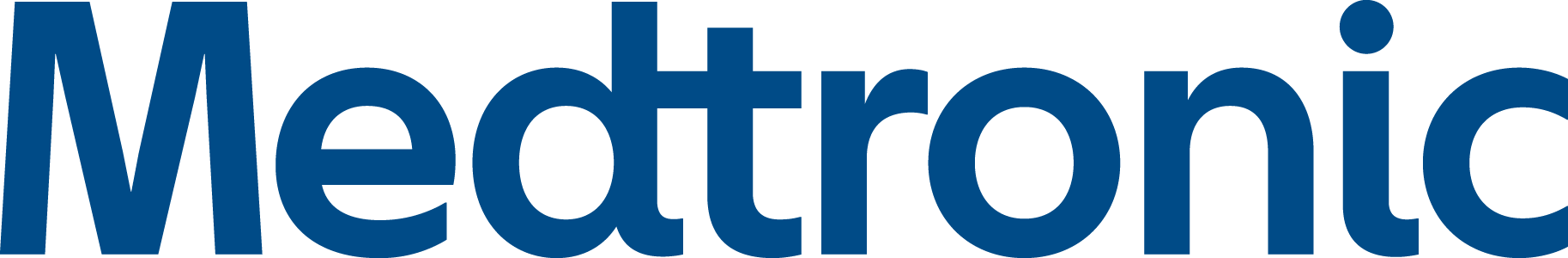 Blue medtronic logo