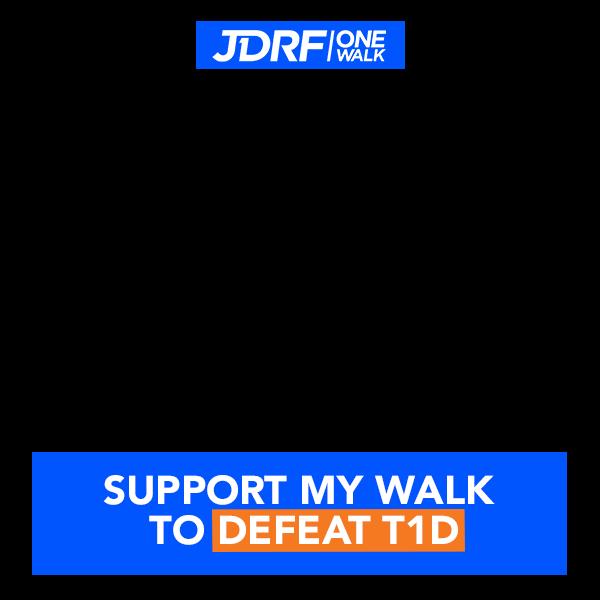 Support My Walk Facebook Profile Frame