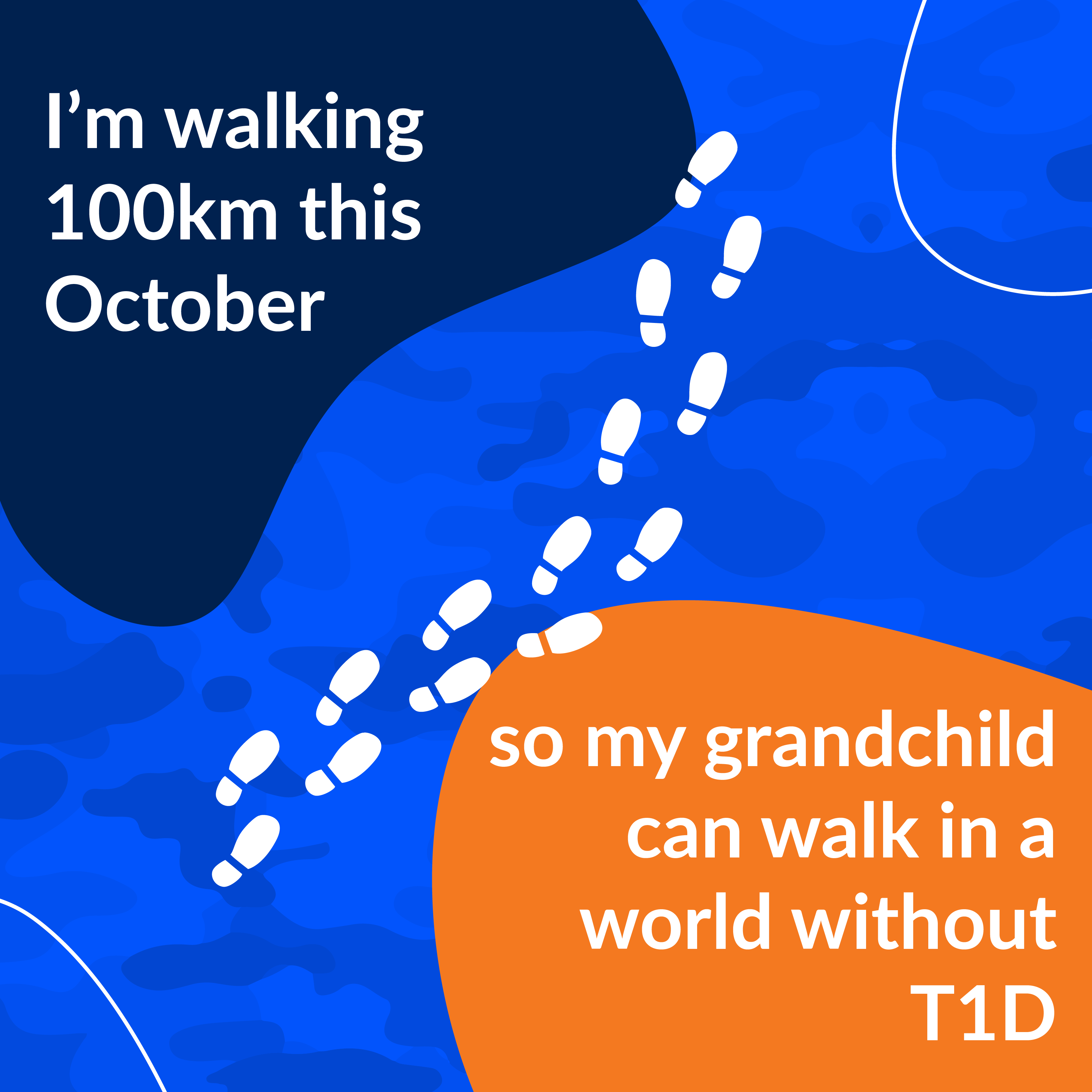 Walking for my grandchild